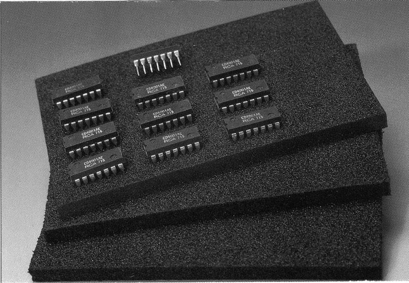 mousses polyurethane conductrice noire graphite. Black Bedroom Furniture Sets. Home Design Ideas